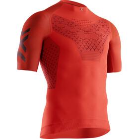 X-Bionic Twyce G2 Run Shirt SS Men sunset orange/teal blue